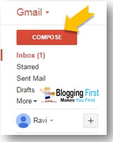 compose a mail