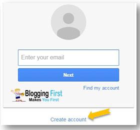 create an gmail account
