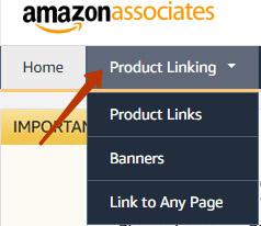 amazon product linking