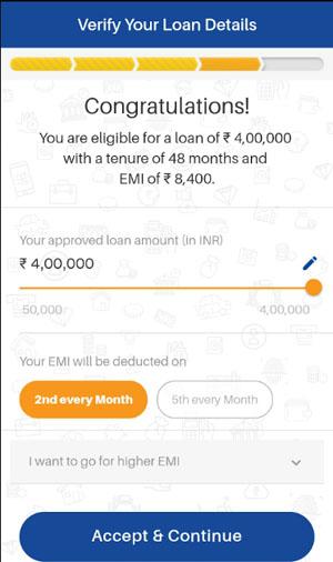 final step dhani app