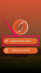 spyhuman enable stealth mode