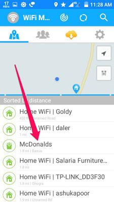 wifi network list