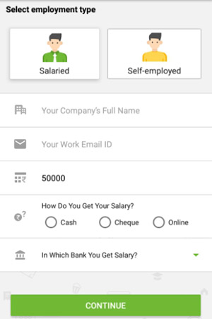 apply loan at money view