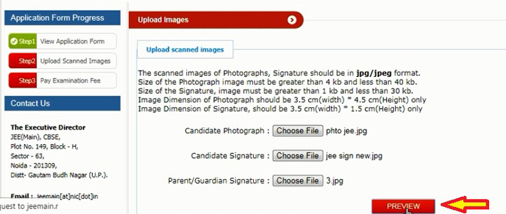 upload image & sign