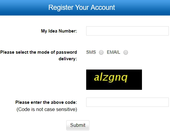 Registration Your Account