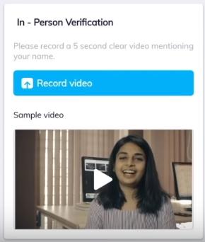 paytm money in person verification